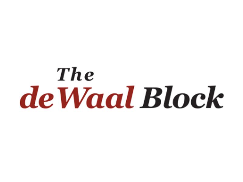 The deWaal Block logo