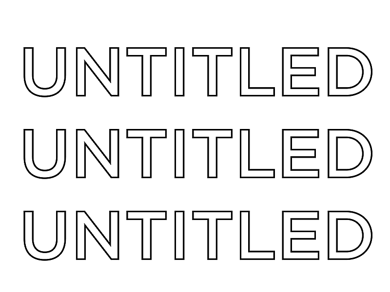 Untitled Arts Society logo