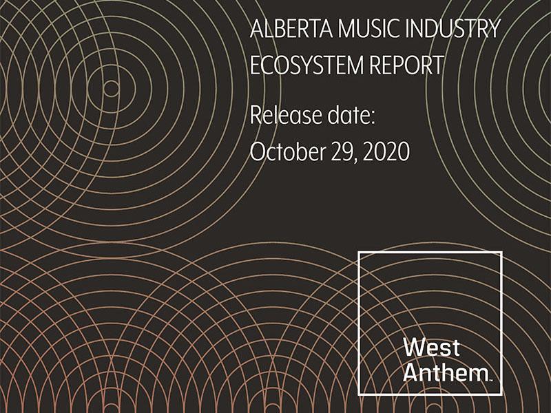 Alberta Music Industry Ecosystem Report graphic