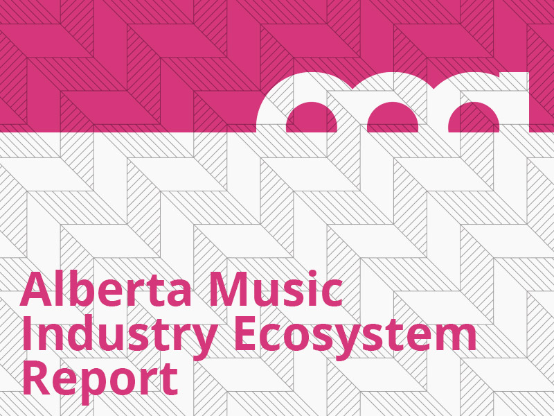 Alberta Music Industry Ecosystem Report graphic