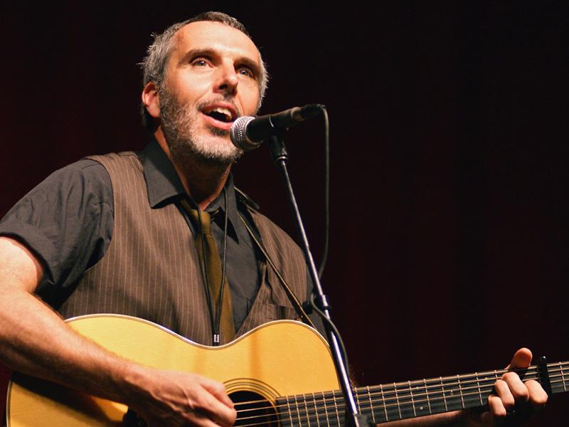 John Wort Hannam on stage