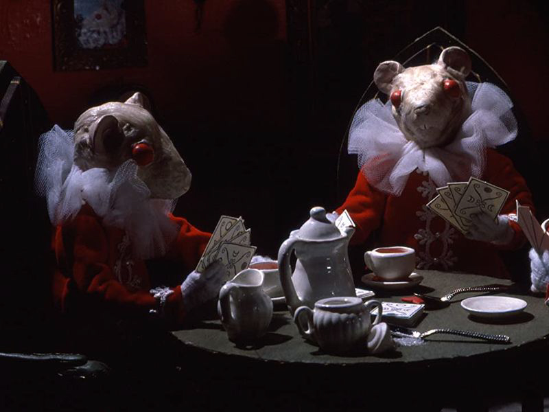 A still from Christiane Cegavske's Blood Tea and Red String