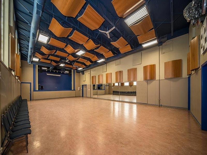 Image of an empty Alexandra Dance Hall