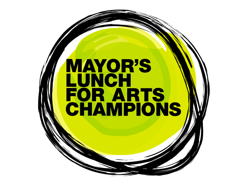 Mayor's Lunch for Arts Champions logo