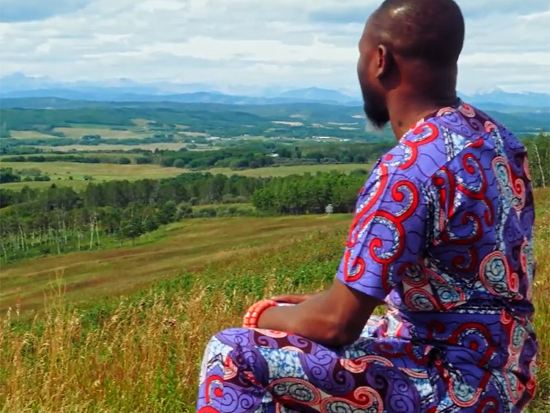 Lanre Ajayi looks at the view from the Leighton Art Centre