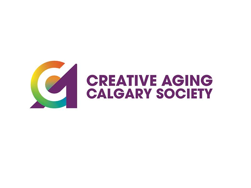 Creative Aging Calgary Society logo