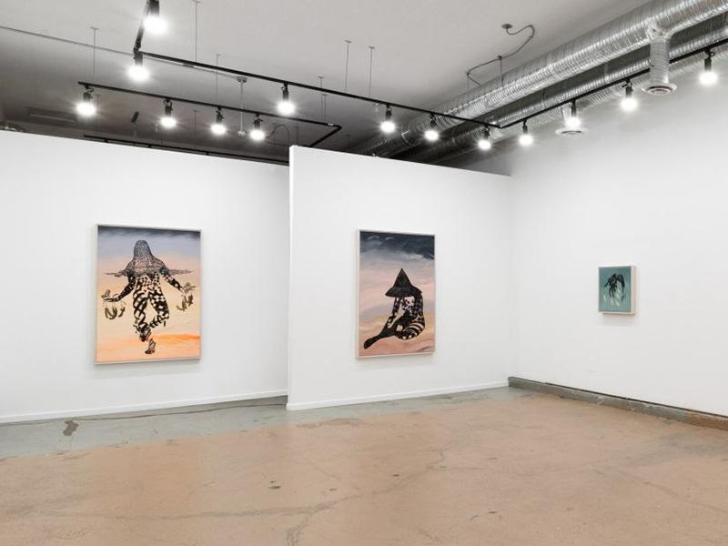 Marigold Santos' binhi at buhol on display at Jarvis Hall Gallery