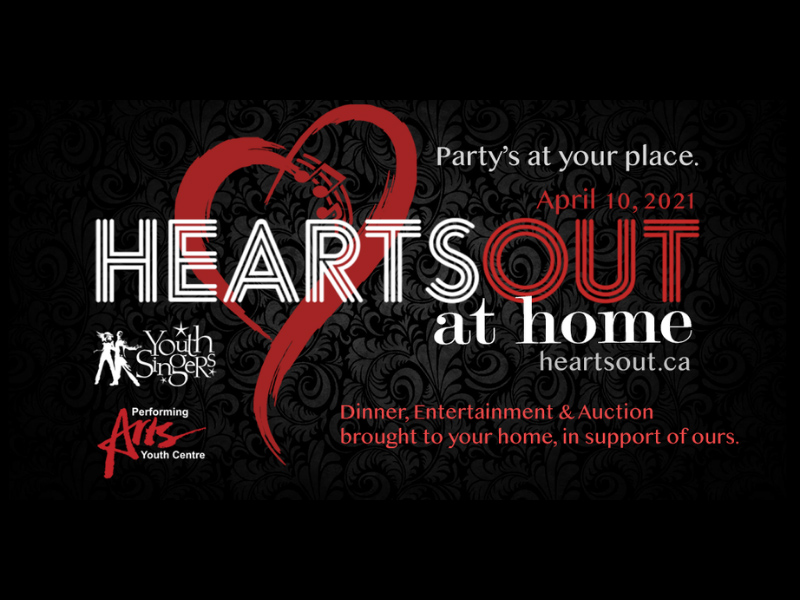 Hearts Out at Home graphic