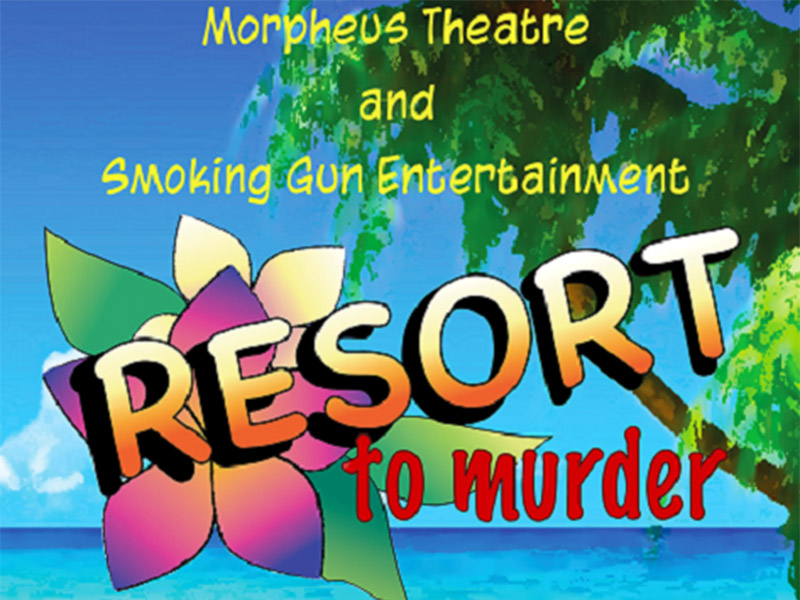 A graphic for Resort to Murder