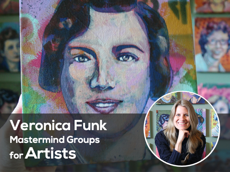 Veronica Funk Mastermind Groups for Artists