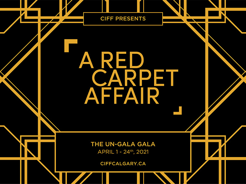 A graphic for the 2021 The Red Carpet Affair Un-Gala Gala Fundraiser event