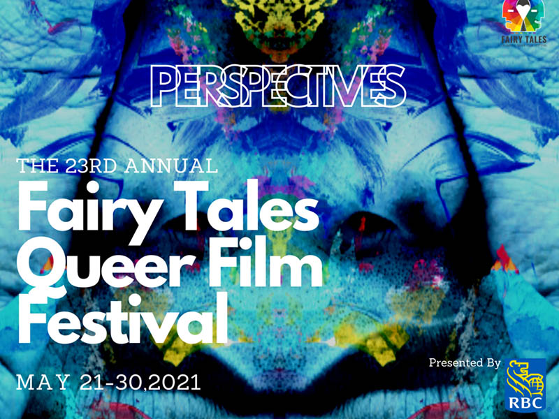 Fairy Tales Queer Film Festival poster for 2021