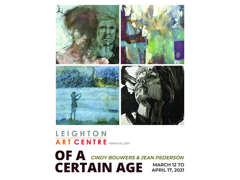 A poster for Of a Certain Age at the Leighton Art Centre