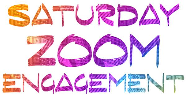Saturday Zoom Engagement wordmark