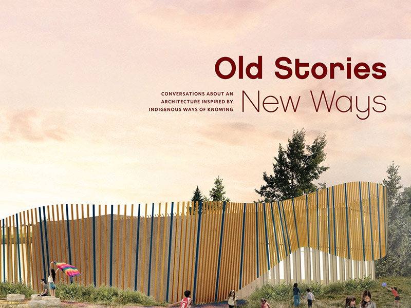 The cover of Vivian Manasc's Old Stories, New Ways