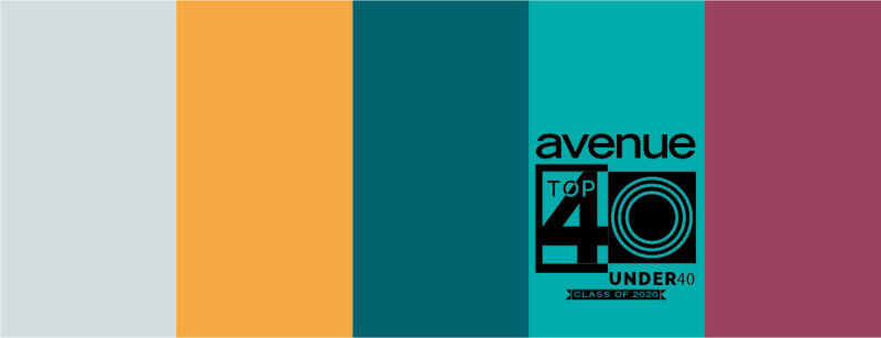 Avenue Top 40 Under 40 banner image