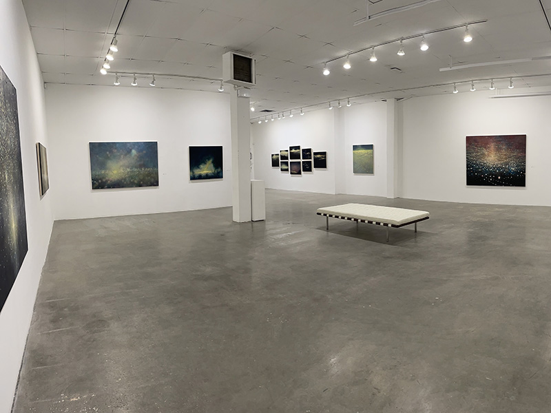 Electric Light - A Retrospective on display at Herringer Kiss Gallery