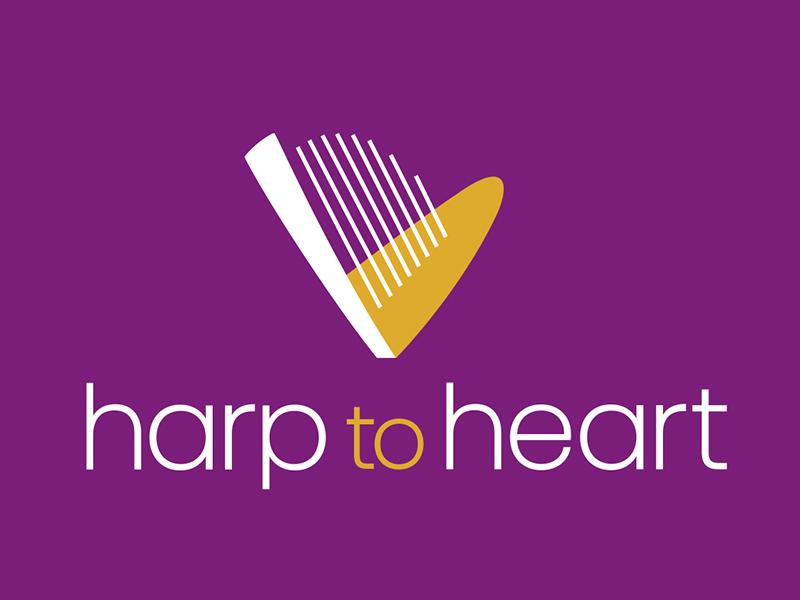 Harp To Heart logo