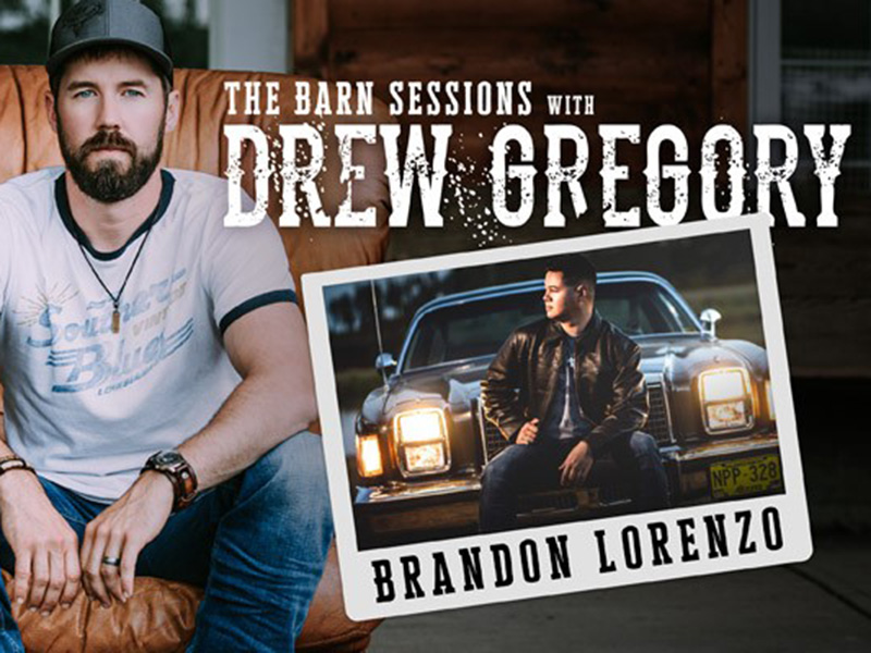A graphic promoting Drew Gregory's Hotels Live show