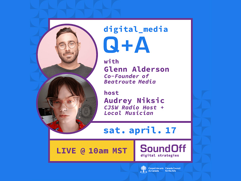 A graphic for the SoundOff Summit's Media Access in a Digital World