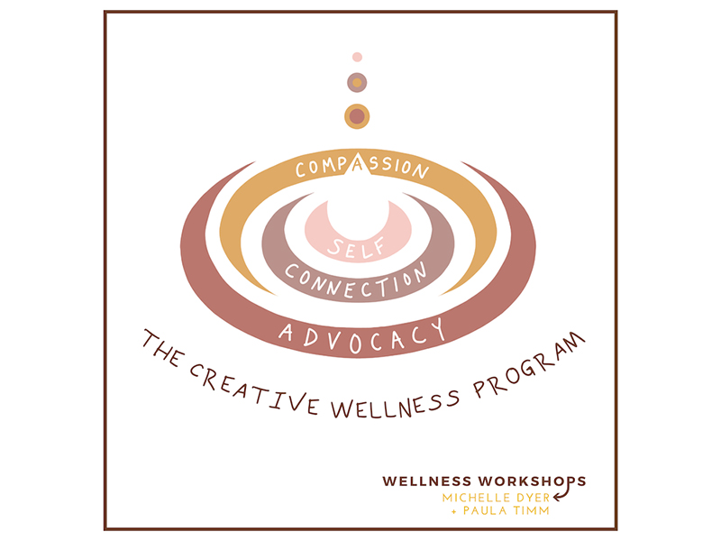 Wellness Workshops with Michelle Dyer + Paula Timm logo