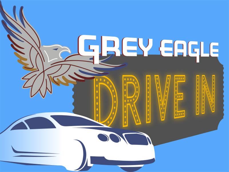 Grey Eagle Drive In logo