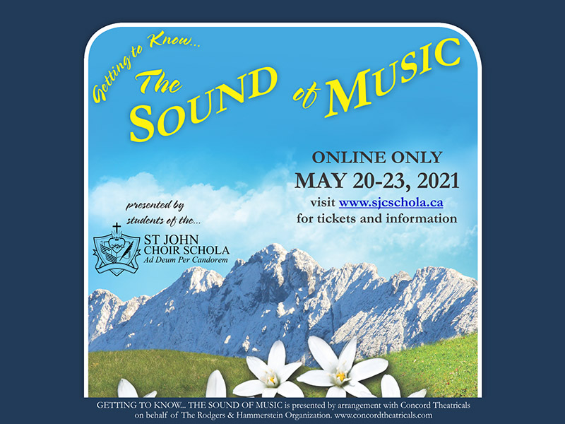 A graphic for Getting to Know... The Sound of Music