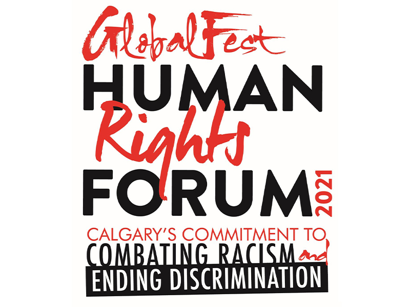 GlobalFest Human Rights Forum logo for 2021