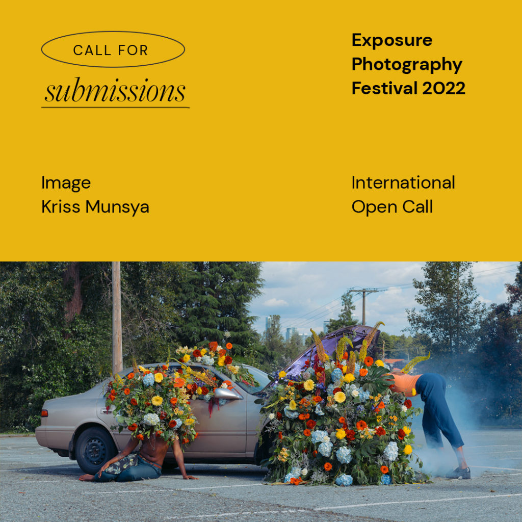 Exposure 2022 International Open Call – Call for submissions