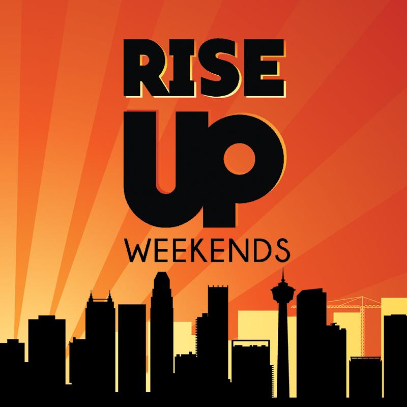 RISE UP Weekends artwork