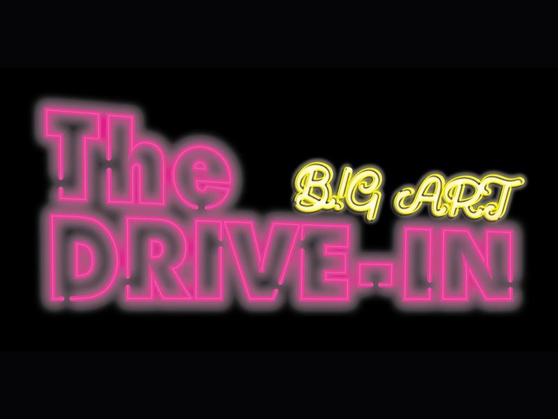 The Big Art Drive-In logo