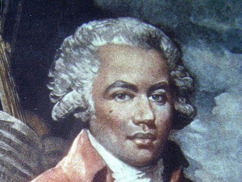 A portait of a Black composer for A Celebration of Music by Black Composers II