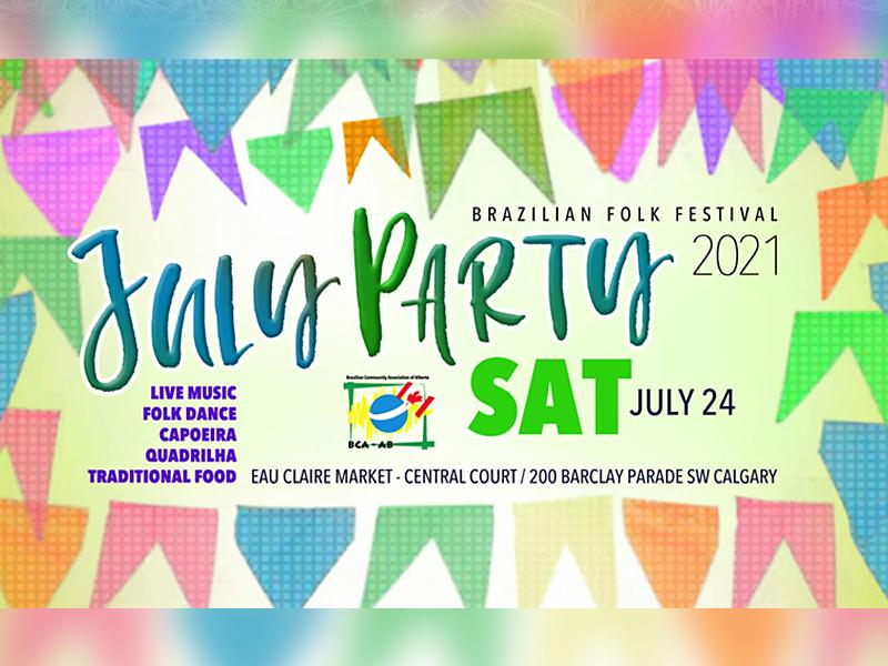 An image of an ad for Brazilian Folk Fest