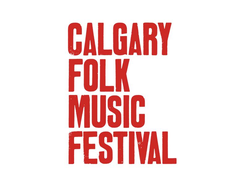 Calgary Folk Music Festival logo