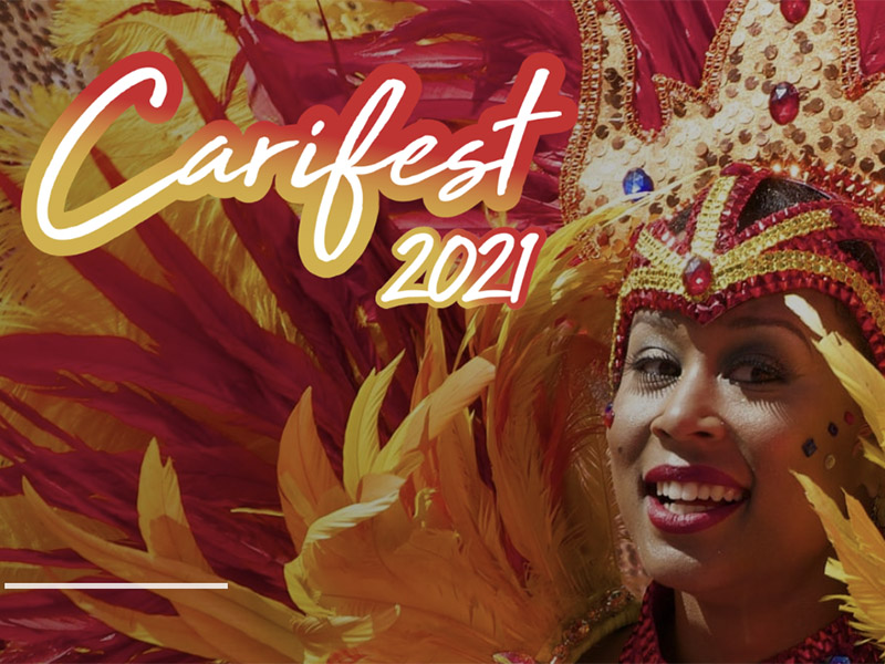 A graphic for Carifest 2021