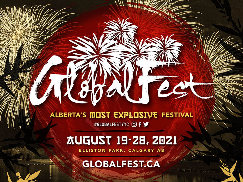 A poster for the 2021 edition of GlobalFest