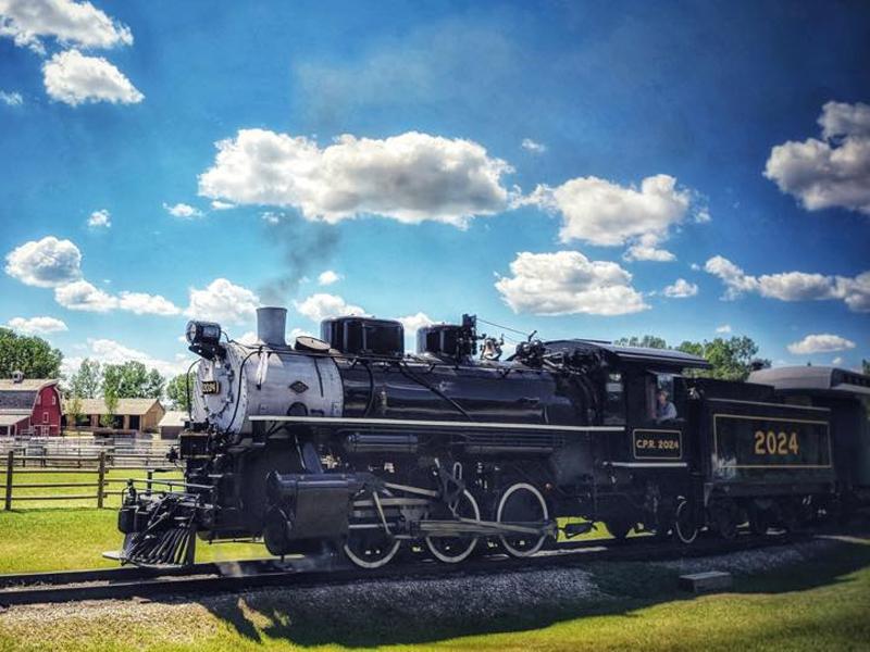An image of a steam train