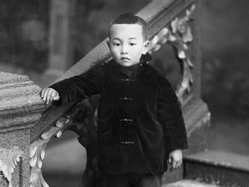 Yee Wing Junior Child from the Glenbow archives