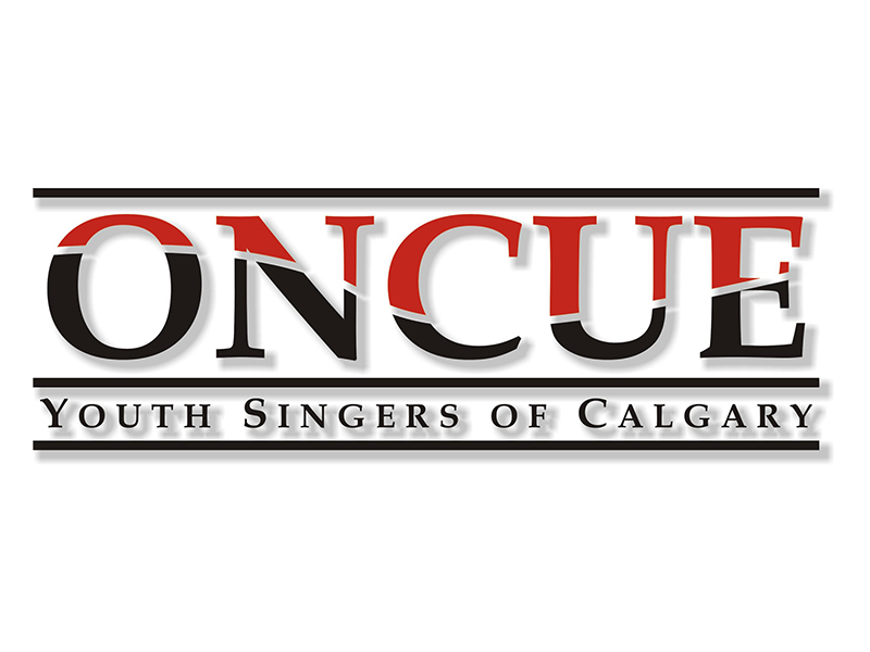 ONCUE Youth Singers of Calgary logo