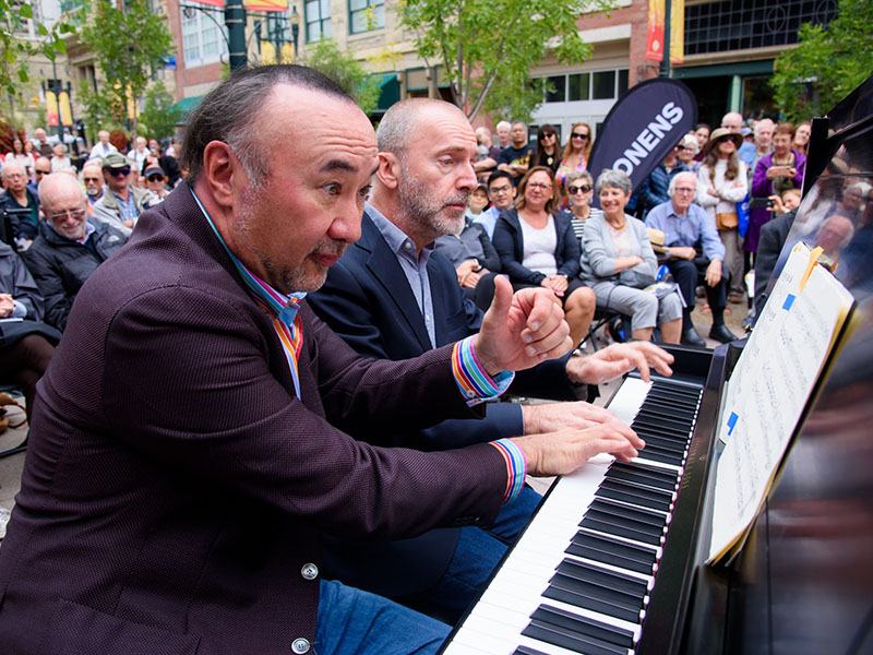 Two pianists play 176 Keys at the Honens Festival