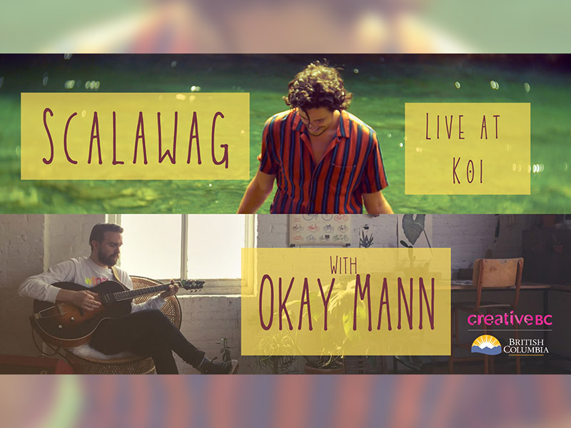 A graphic for Scalawag with Okay Mann at Koi