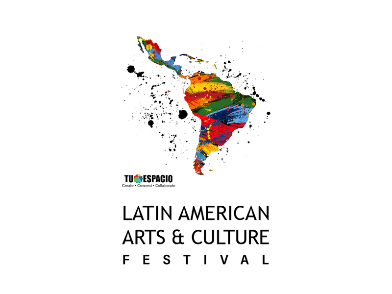 A graphic for the Latin American Arts & Culture Festival