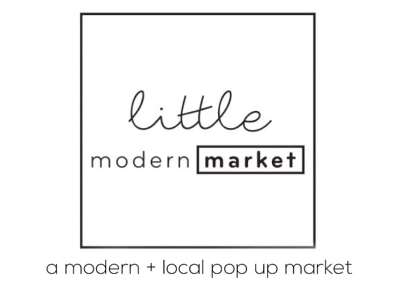 An image of an ad for little modern market
